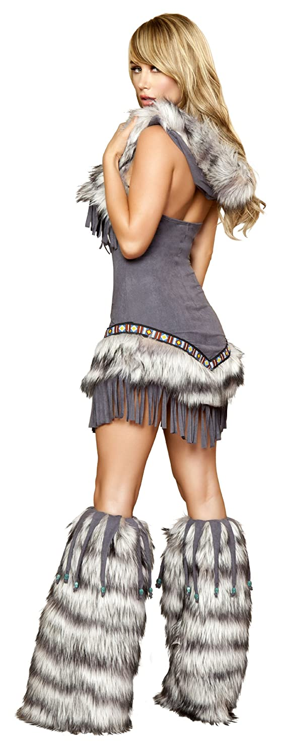 amazoncom roma costume 1 piece native american temptress clothing - Native American Costume Halloween