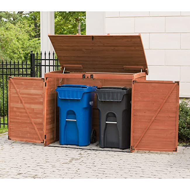 Best Outdoor Garbage Can Storage Shed