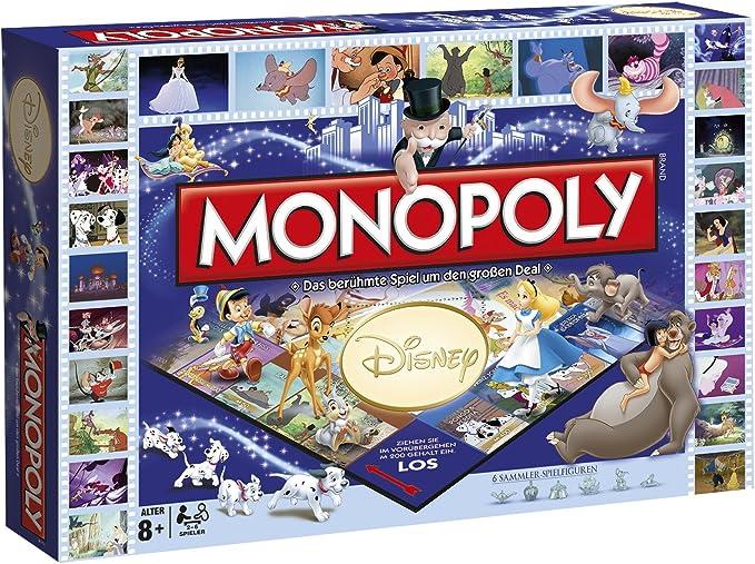 Winning Moves - Juego Monopoly para 2 - 6 Jugadores (44055) : Amazon.es: Juguetes y juegos