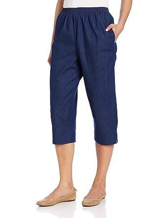 e2dbdd876c3 Alfred Dunner Women s Capri at Amazon Women s Clothing store  Pants