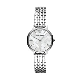 b79a54311f Buy Emporio Armani Analog Multi-Colour Dial Women's Watch - AR11112 Online  at Low Prices in India - Amazon.in