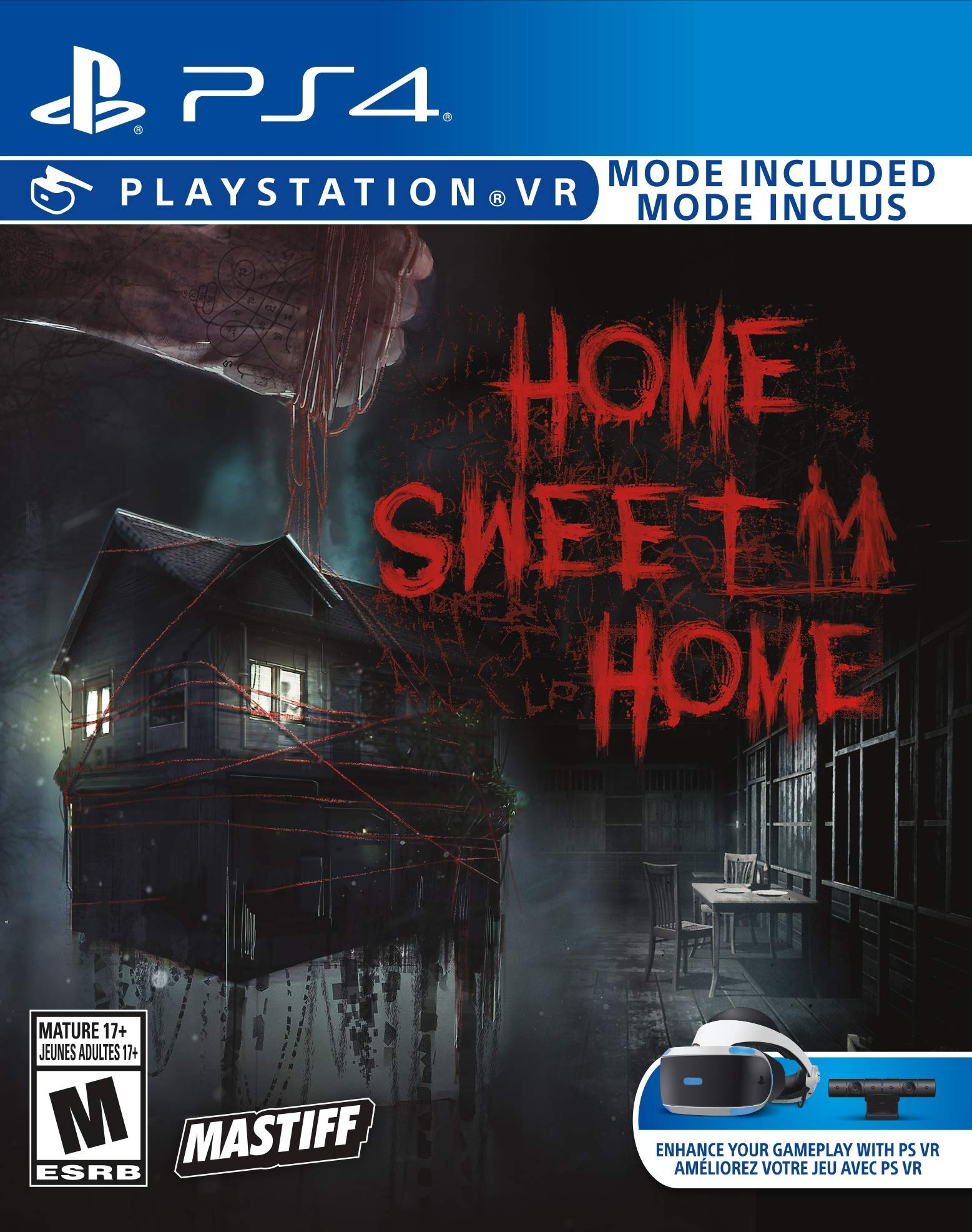 Amazon com: Home Sweet Home Playstation 4 PSVR (USA Version): Video