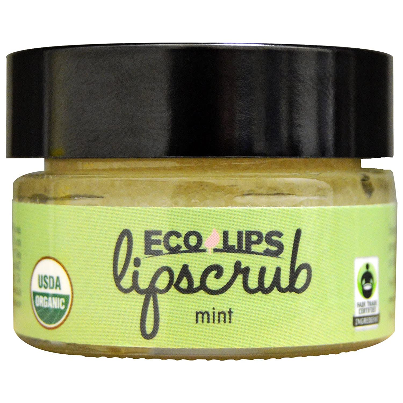 Eco Lips - Organic Lip Scrub Brown Sugar - 0.5 oz.