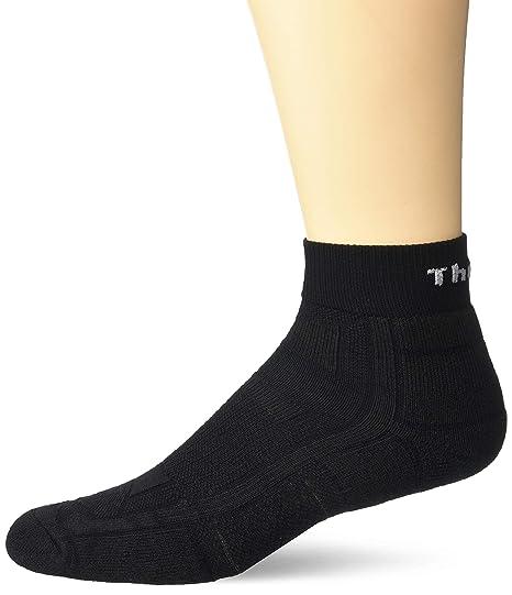 02ee33268 Amazon.com: Thorlos Unisex Adult OAQU Outdoor Athlete Thin Padded Ankle Sock:  Clothing