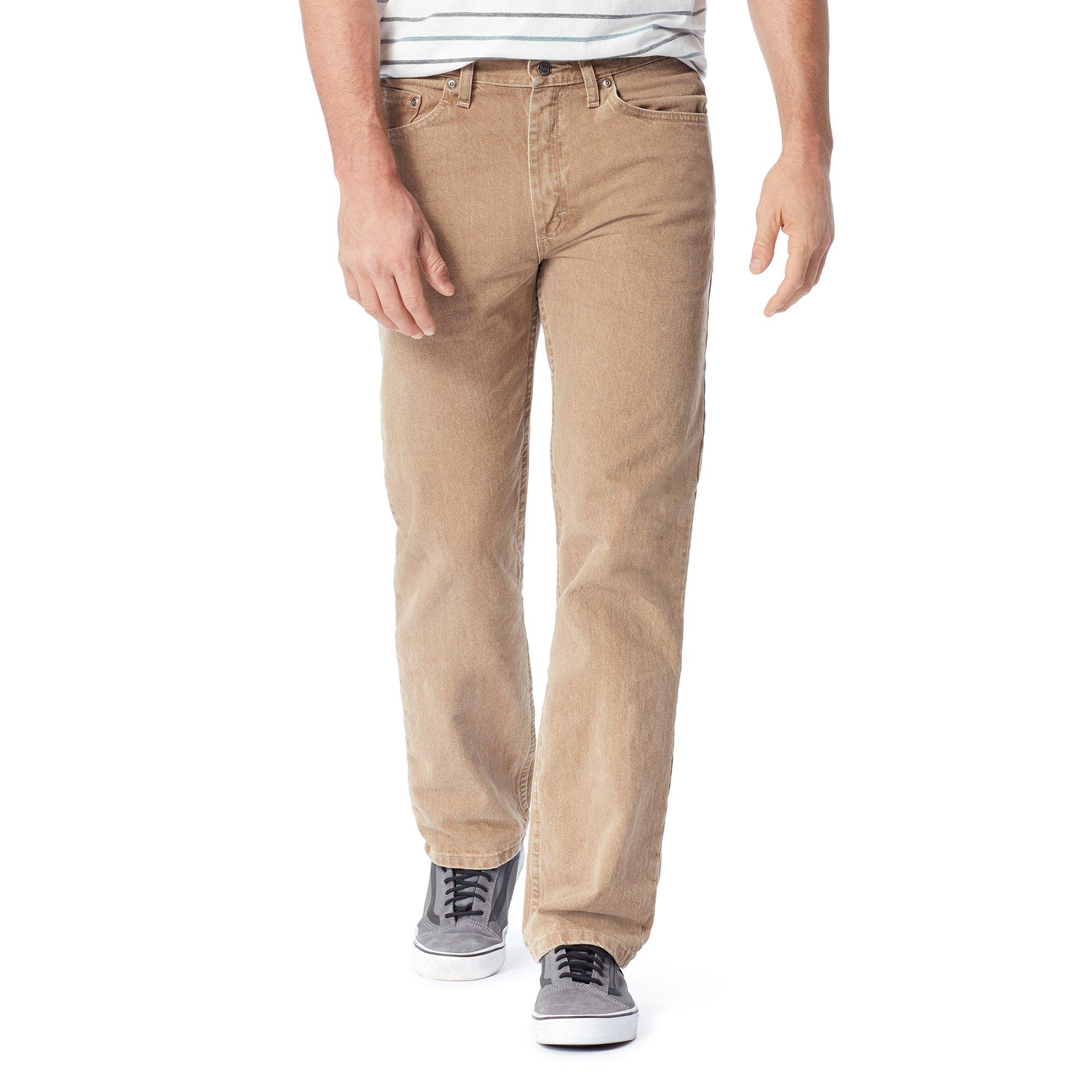 Wrangler Authentics Men's Classic 5-Pocket Regular Fit Jean,Khaki,36x32