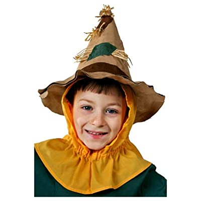 Fun Costumes Child Scarecrow Hat Standard: Clothing