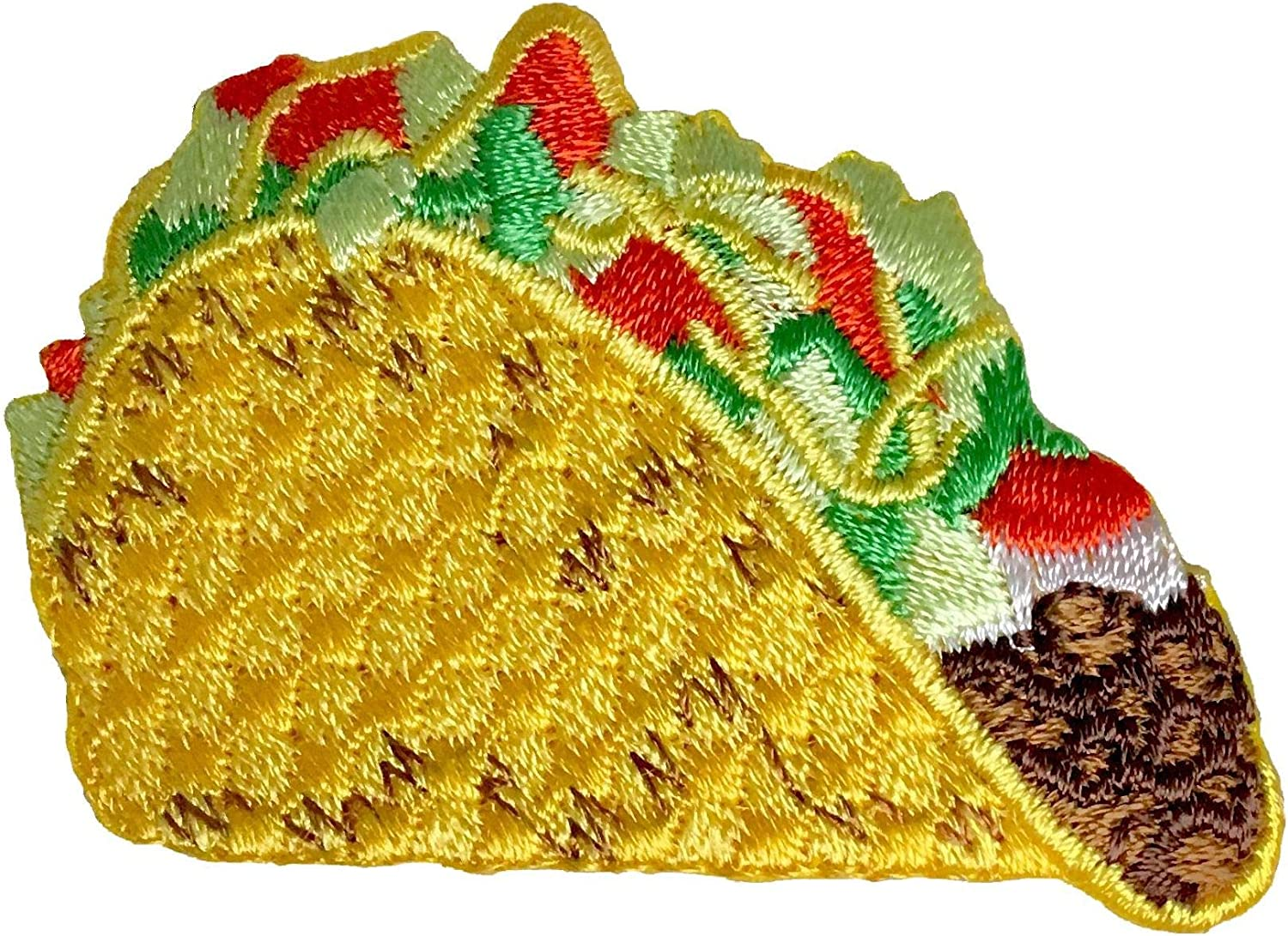 Taco Supreme - Picnic - Tex-Mex/Mexican Food - Embroidered Iron on Patch