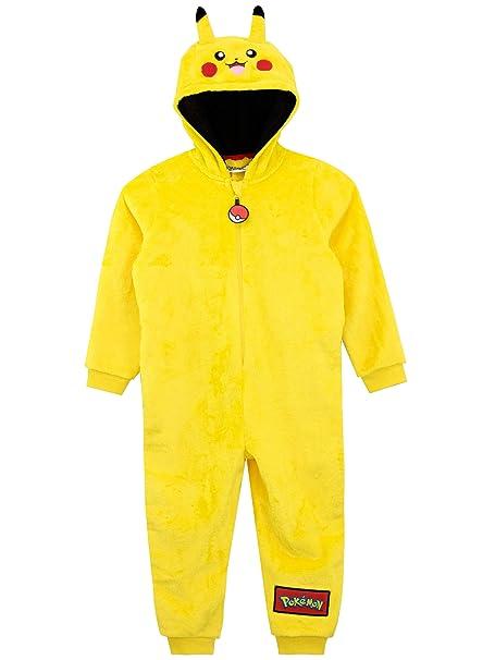 Pokèmon Pijama Entera para niños Pikachu