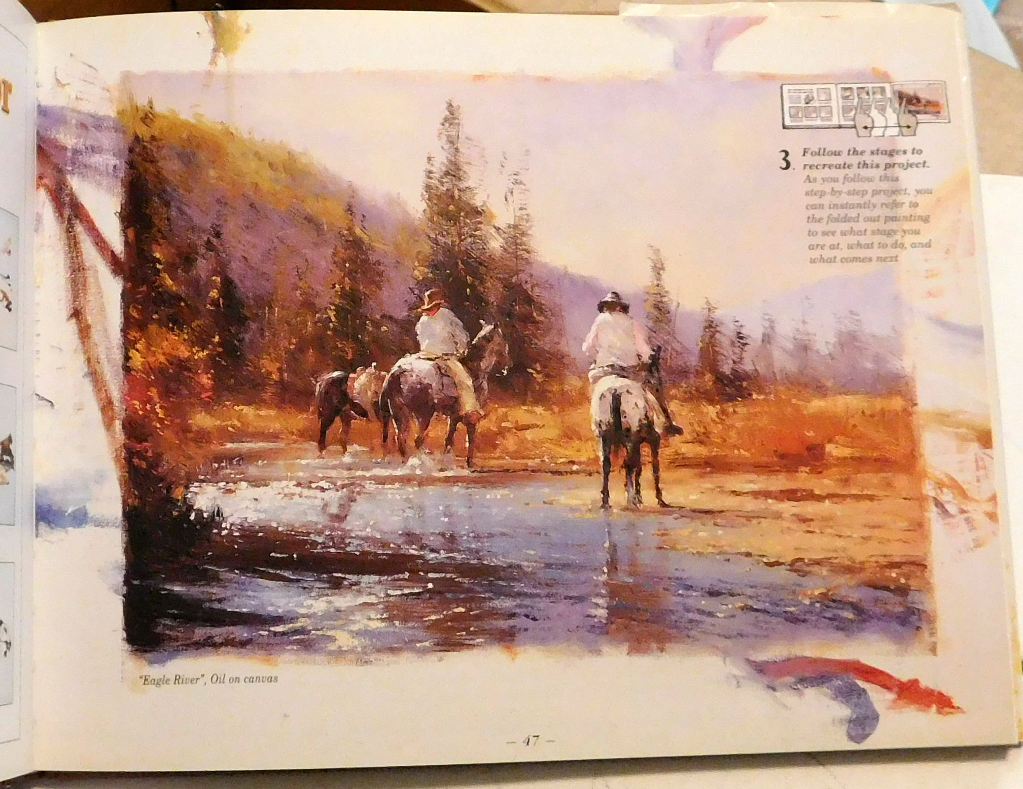 painting cowboys and the old west robert hagan 9780958681636