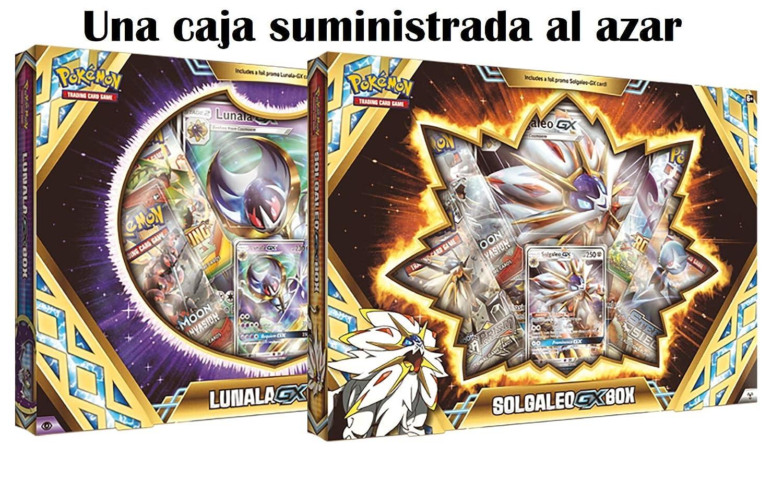 Pokemon JCC Caja Premium Solgaleo/Lunala GX - Español