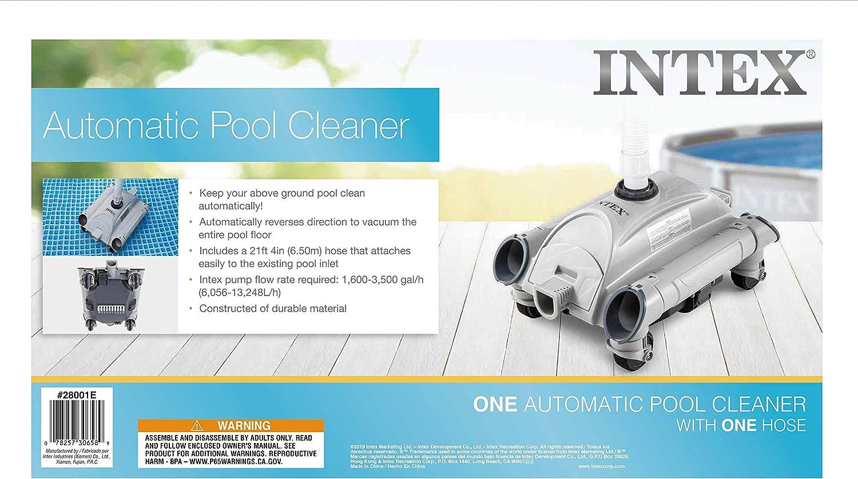 Intex automático Limpiador de Piscina: Amazon.es: Jardín