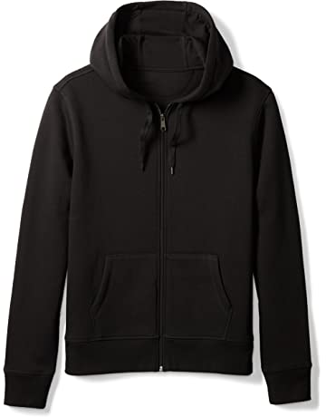 0349b4b98 Amazon Essentials Men's Full-Zip Hooded Fleece Sweatshirt