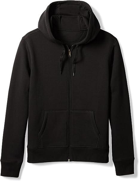 Amazon Essentials Men's Full Zip Hooded Fleece Sweatshirt