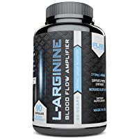 Pure Label Nutrition-Maximum Strength L-Arginine 2110mg Nitric Oxide Booster, 90 caps, Top Rated, Build Muscle and Strength, Boost Energy and Blood Flow. Most Effective Dose for Men and Women. 30-days