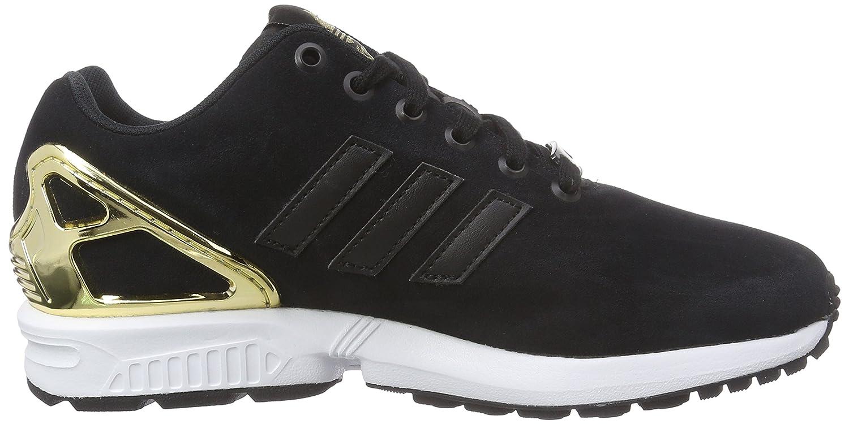31bd7854f adidas Originals Women s ZX Flux Trainers Black Schwarz (Core Black Core  Black Gold Met.) 9  Amazon.co.uk  Shoes   Bags