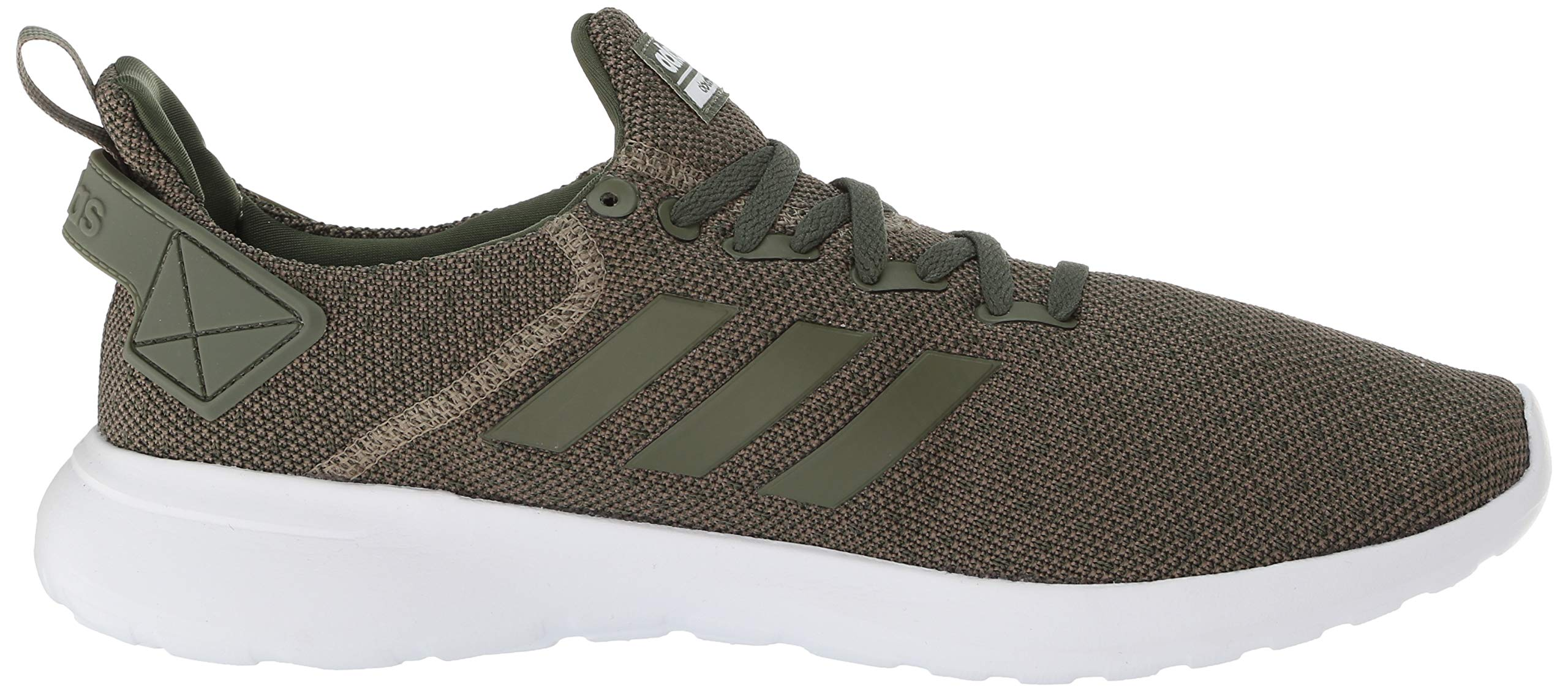 adidas Men's Lite Racer BYD Running Shoe, Trace Cargo/Base Green/White, 10 M US by adidas (Image #7)