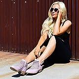 Brinley Co Women's Karma Ankle Boot, Grey, 6.5