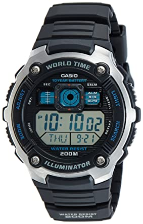 Casio General Mens Watches Sporty Digital AE-2000W-1AVDF - WW