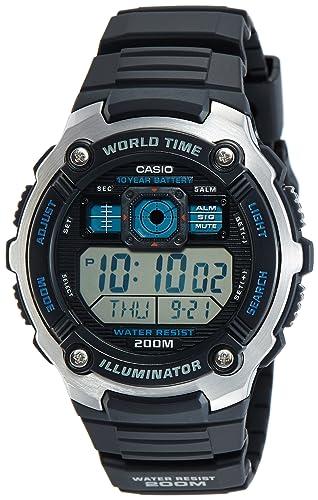 3f05d64adc0 Casio Reloj de Pulsera AE-2000W-1AVEF  Casio  Amazon.es  Relojes