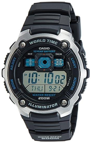 Amazon.com: Casio General Mens Watches Sporty Digital AE-2000W-1AVDF - WW: Watches