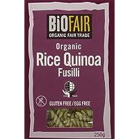 BioFAIR Organic Fair Trade Rice Quinoa Fusilli 250g (Pack of 6)