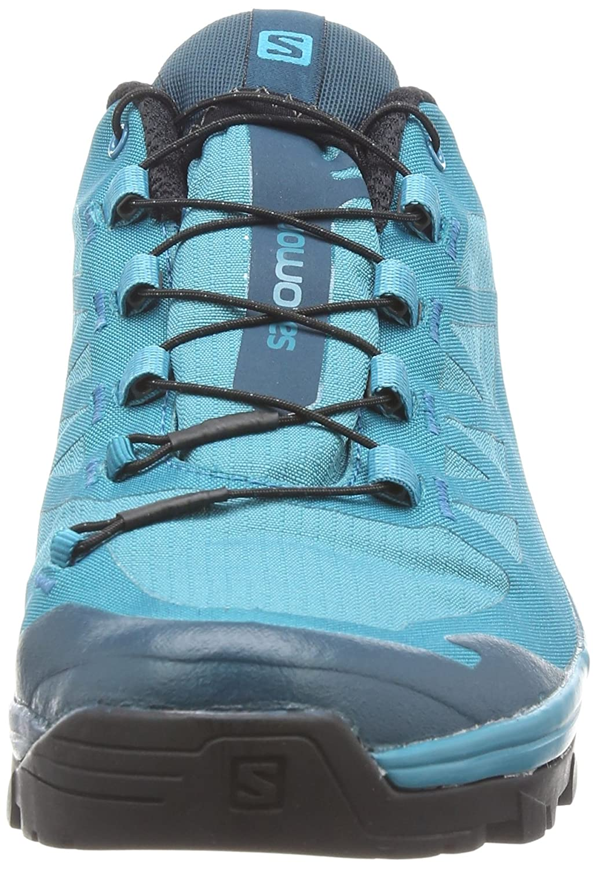 Salomon Outpath GTX Hiking Shoe - Women's B01N2KJOEQ 7.5 B(M) US|Tahitian Tide, Reflecting Pond, Black