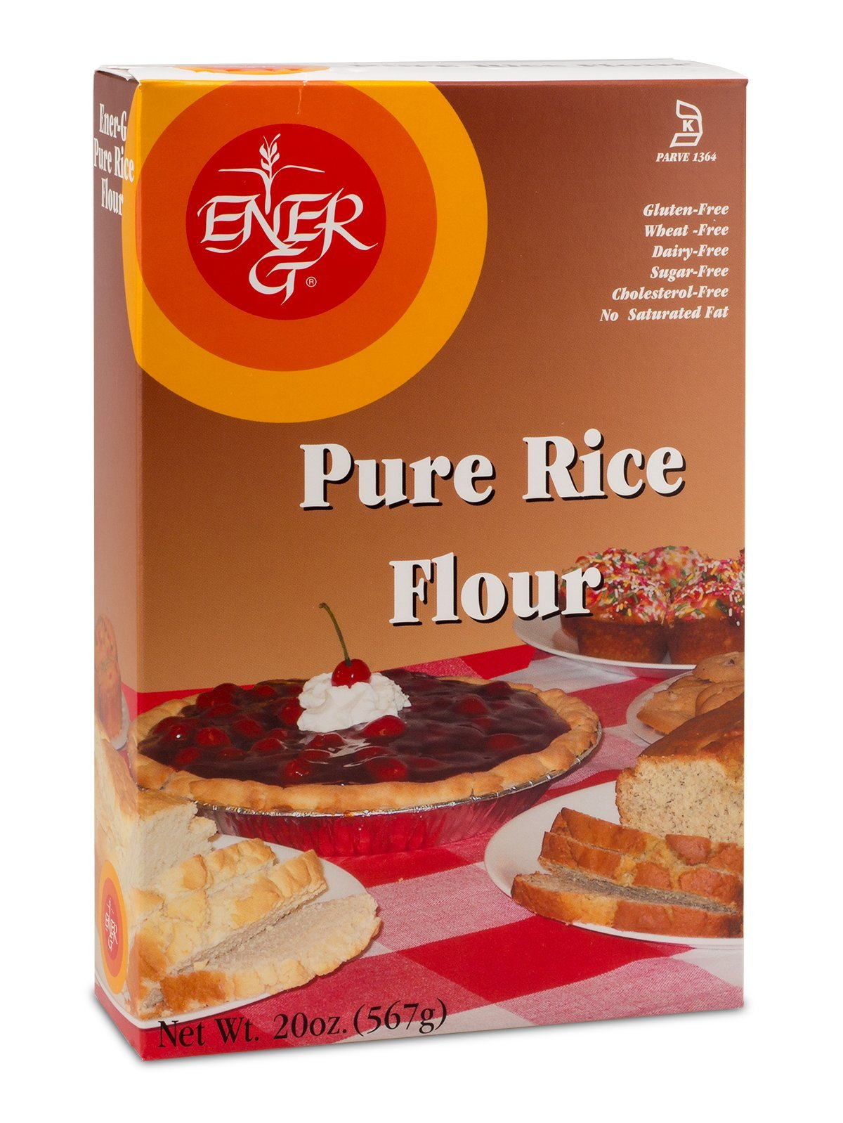 White Rice Flour Ener-G Foods 20 oz Box