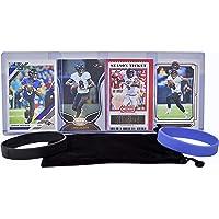 $24 » Lamar Jackson Football Cards (4) Assorted Bundle - Baltimore Ravens Trading Card Gift Set