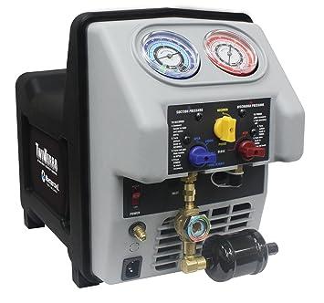 MasterCool aire acondicionado Twin Turbo máquina de reciclaje de refrigerante 69350 - 220: Amazon.es: Coche y moto