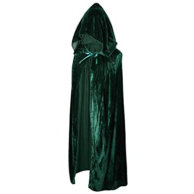 Crizcape Kids Costumes Capes Cloak with Hood for Halloween Party Ages 2 to 18: Clothing