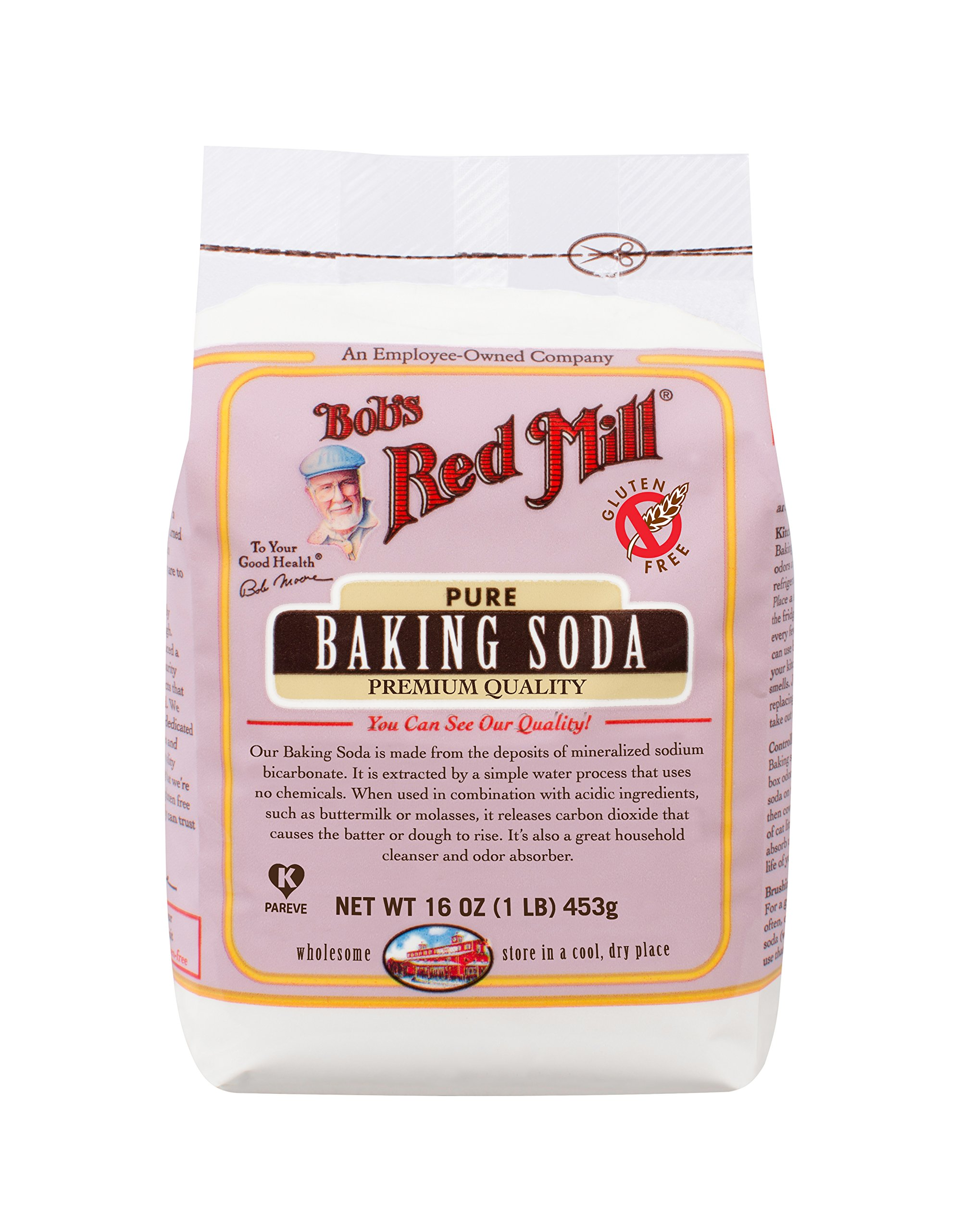 Bob's Red Mill Baking Soda, 16-ounce (Pack of 4) by Bob's Red Mill (Image #2)