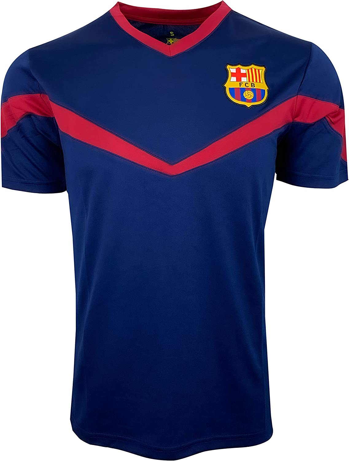 Icon Sports FC Barcelona Training Jersey (Adult Sizes), Licensed Barcelona Shirt