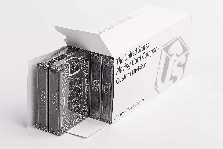 12 Pack Aristo Steampunk Playing Cards Brick Poker Size Standard Index Deck