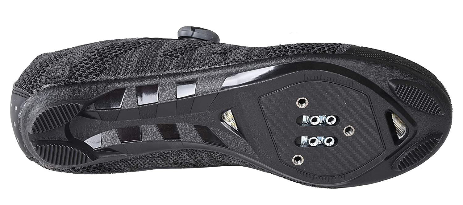 Gavin Pro Road Cycling Shoe 3 Bolt Road Cleat Compatible Quick Lace