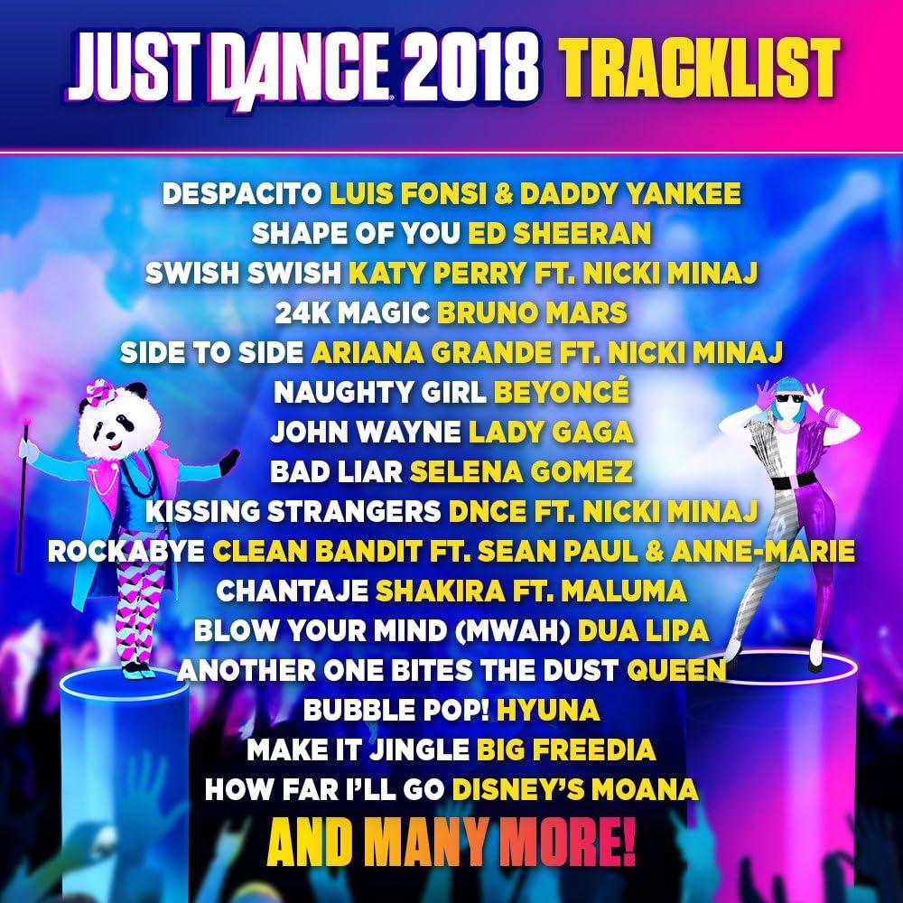 Amazon.com: Just Dance 2018 - Wii: Nintendo Wii: Ubisoft: Video Games