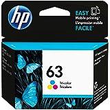 HP 63 | Ink Cartridge | Tri-color | Works with HP DeskJet 1112, 2100 Series, 3600 Series, HP ENVY 4500 Series, HP OfficeJet 3