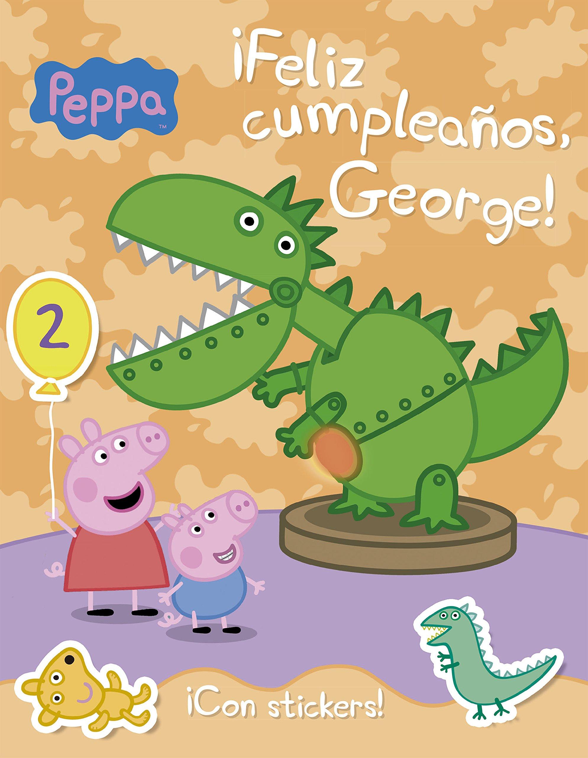Feliz cumpleaños, George!: EONE: 9786073127356: Amazon.com ...
