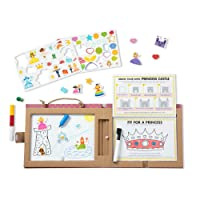 Melissa & Doug Natural Play: Play, Draw, Create, Princesses
