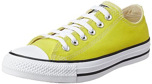 Converse Unisex Bitter Lemon Basketball Shoes - 11 UK India (45 EU) d7677eb0a