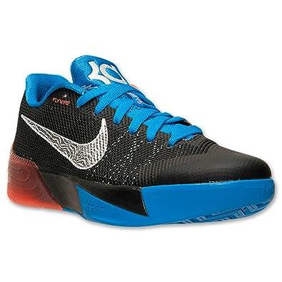 bd4e9ed5f518 Nike Men s KD Trey 5 II Basketball Shoes Black Metallic Silver Photo Blue  (11.5)  Amazon.co.uk  Shoes   Bags