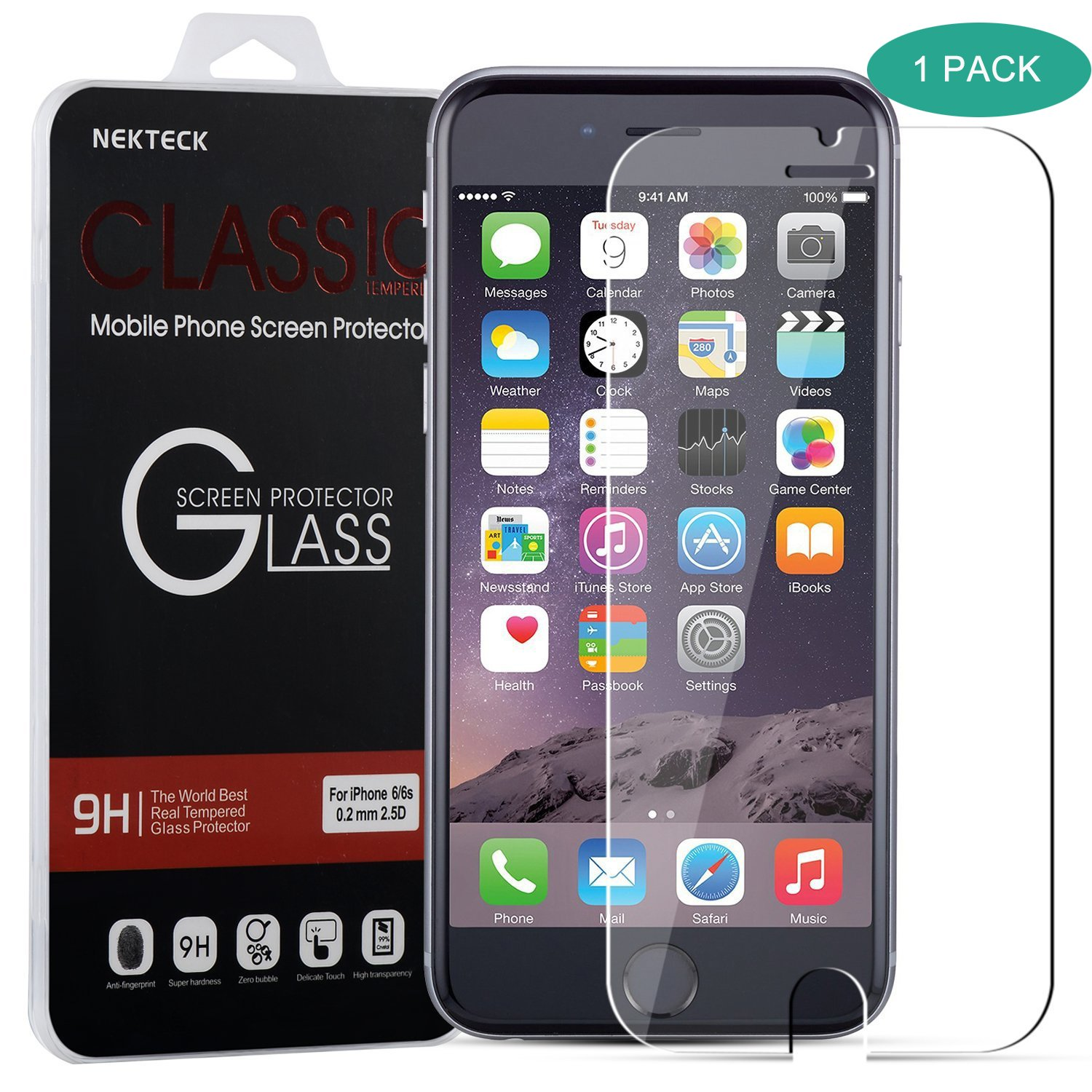 Iphone 7 Screen Protector Nekteck Iphone 7 6 6S 0.2Mm Tempered Glass Ballisti.. 14