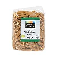 Fresh & Wild Organic Whole Wheat Penne Pasta, 500 g