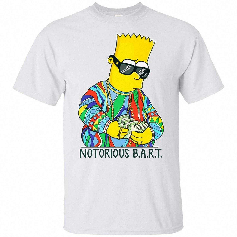 Amazon.com: Notorious Bart Simpson Transforms To Garfield T ...
