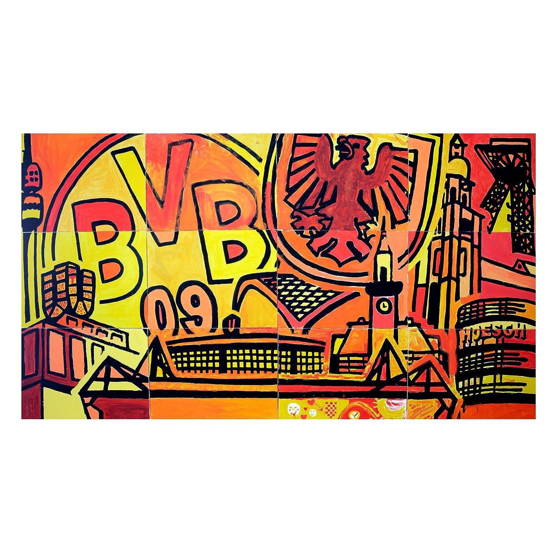 Du bist ein Teil von Dortmund-Kunstdruck 90x50cm one Größe