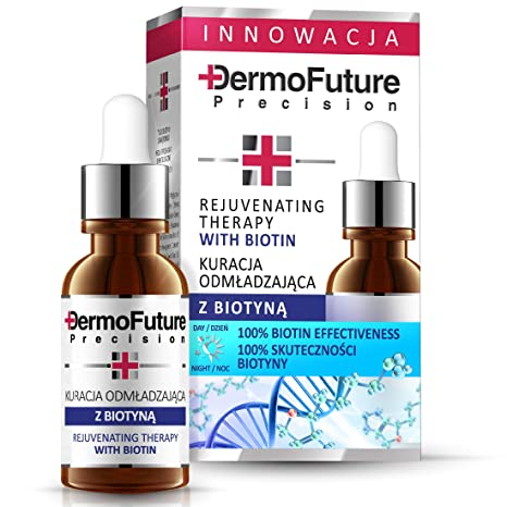 Derm ofuture Antiarrugas Intensivo Serum con Biotina de vitamina B7 20 ml