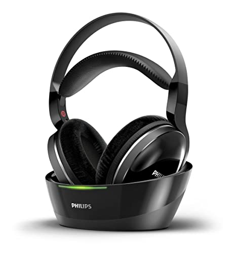 Philips SHD8850 - Auriculares inalámbricos para TV, excelente sonido cinematográfico, 20 horas de autonomía