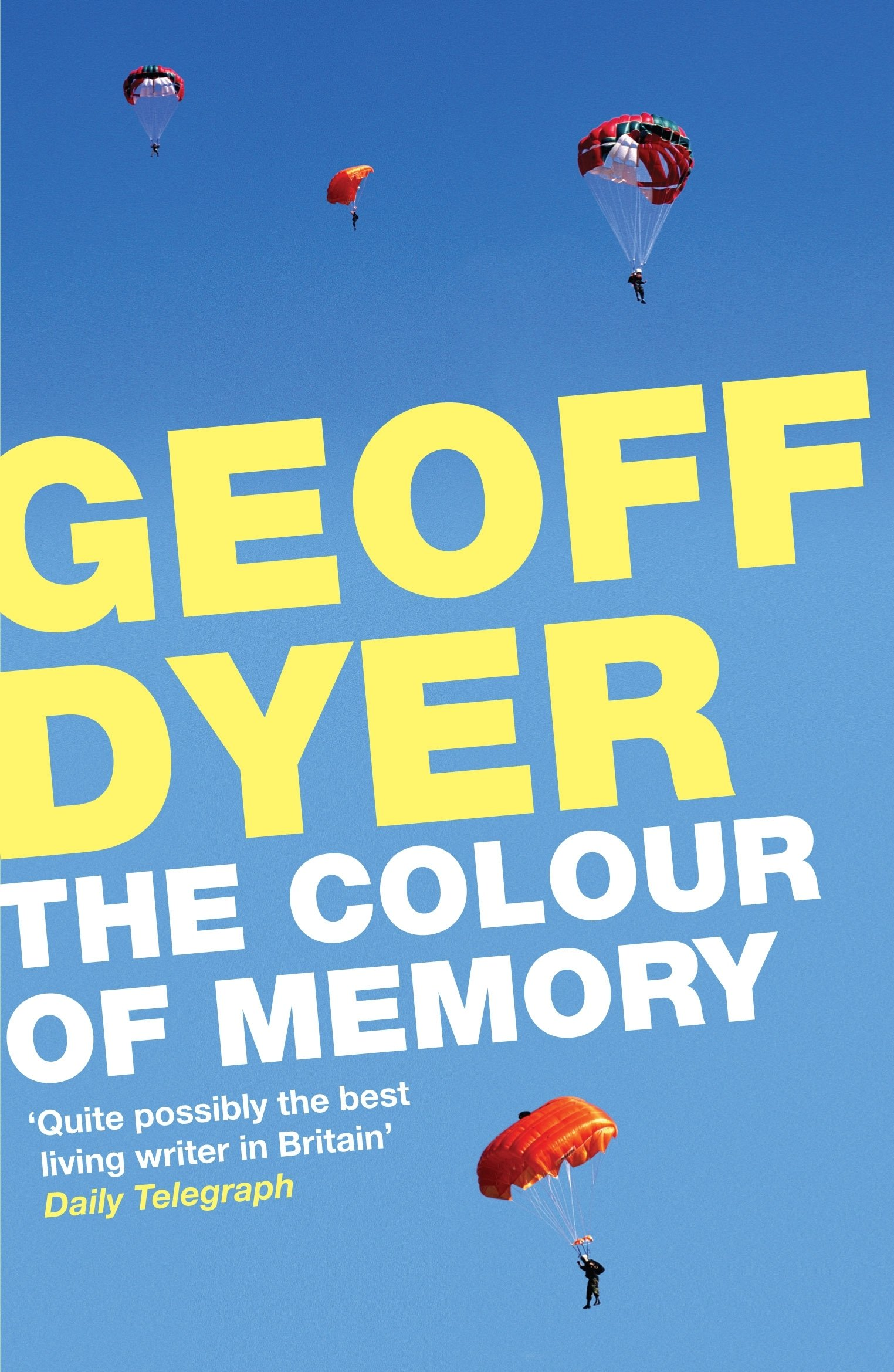 The Colour of Memory Amazon Geoff Dyer Books