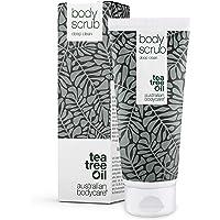 Australian Bodycare Bodyscrub voor Vrouwen & Mannen 200 ml | Tea Tree Olie Bodyscrub Exfoliant | Voetscrub voor de…