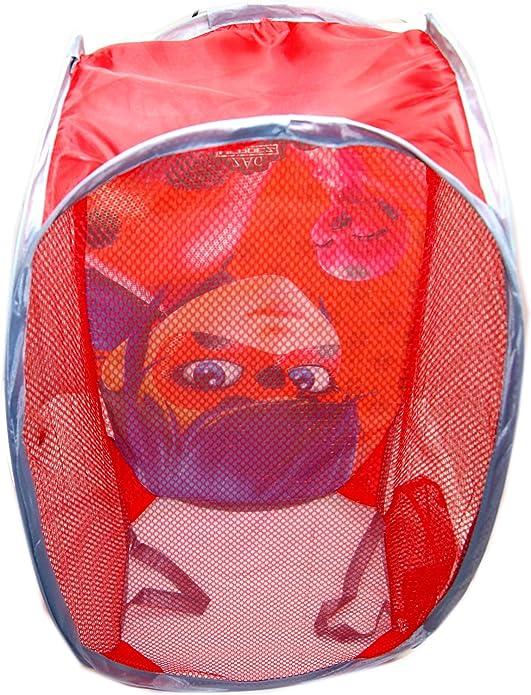 Ladybug Miraculous Pop Up Laundry Basket,Toys Basket,Official Licensed
