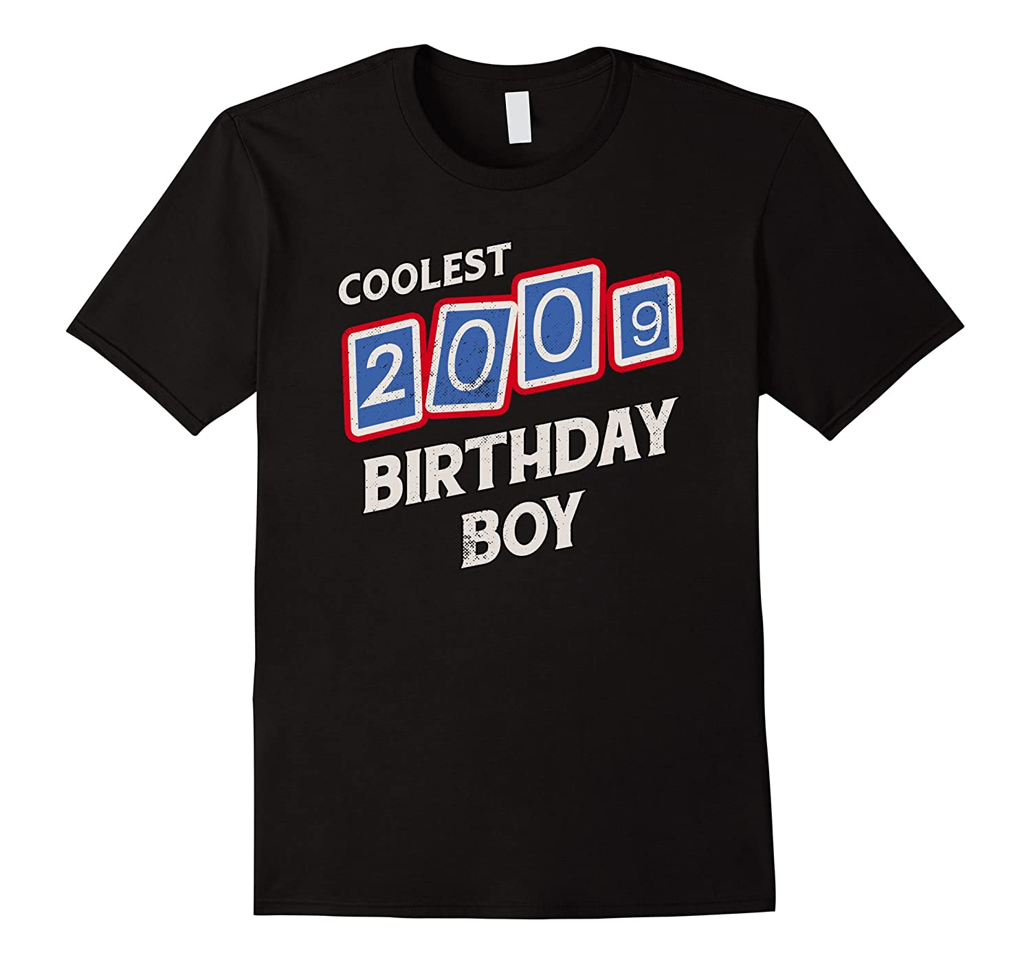 2009 8th Birthday Gift 8 Years Old Boy Bday T Shirt